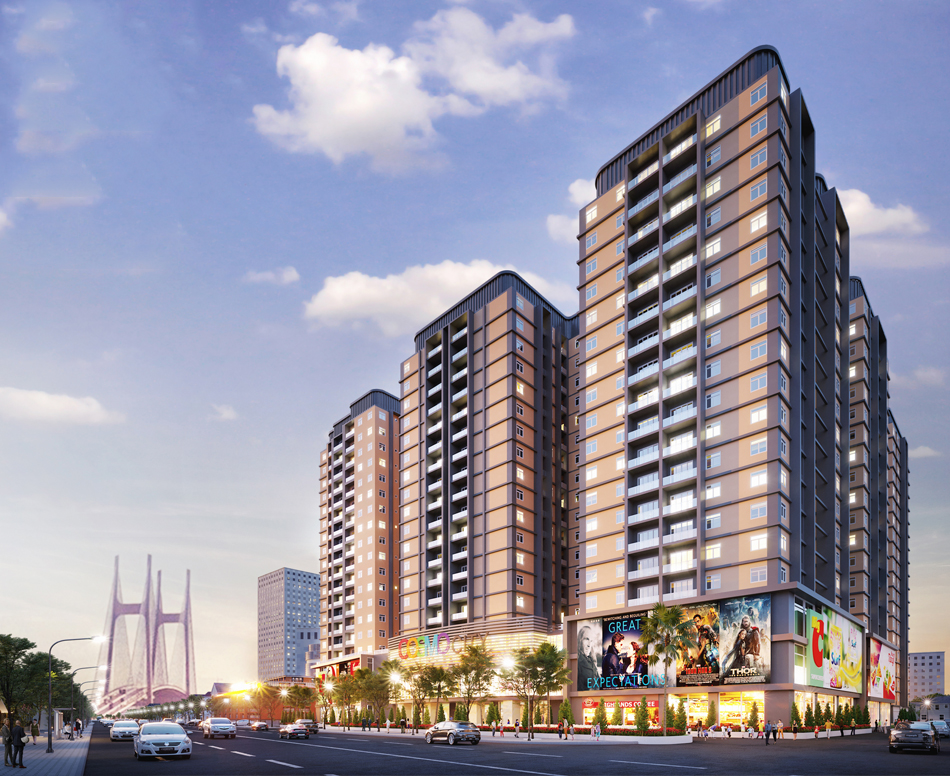 Cosmo City-Ho Chi Minh City Urban Area 760 units Design, construction, installation and operation