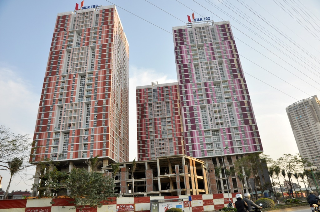 USILK City urban area – Hanoi city 2800 units Design, construction, installation and operation